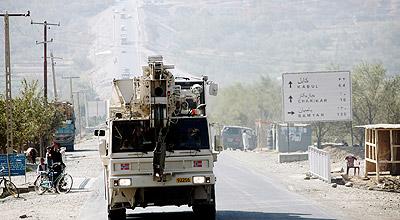 Første blogg fra Kabul